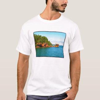T-shirt Roche de lune de miel