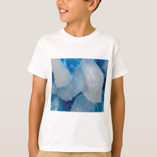 T-shirt roches bleues et blanches