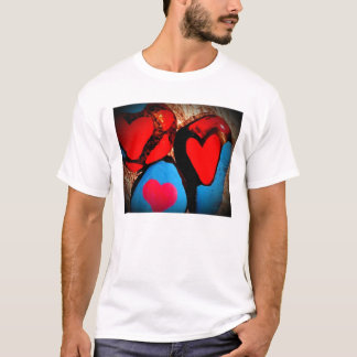 T-shirt roches d'amour