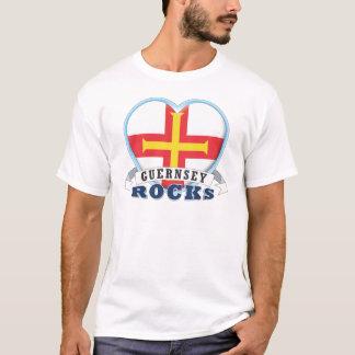 T-shirt Roches de Guernesey