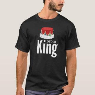 T-shirt Roi de bal d'étudiants