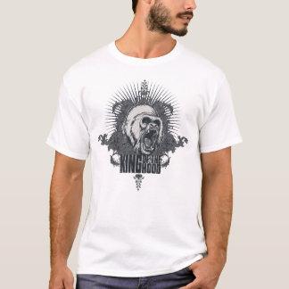T-shirt Roi de la chemise d'amusement de capot