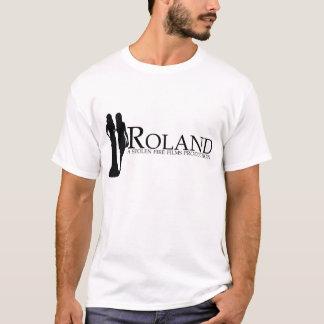 T-shirt ROLAND : Silhouette de Manya et de Nadiya