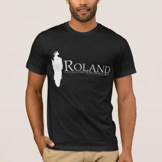 T-shirt ROLAND : Silhouette de Roland (noir)