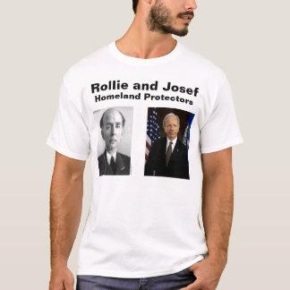 T-shirt Rollie et Josef, protecteurs de patrie