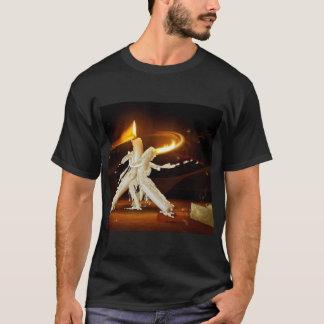 T-shirt romance de bougie
