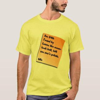 T-shirt Rondin de George Baily