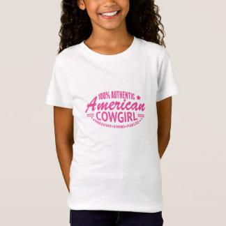 T-Shirt Rose américain authentique de tee - shirt de