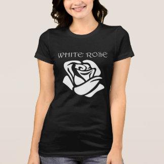 T-shirt Rose blanc