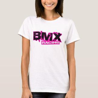 T-SHIRT ROSE DE EMBALLAGE DE BMX