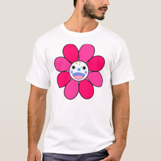 T-shirt Rose de fleur