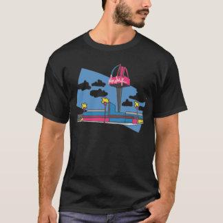T-shirt Rose-promenade