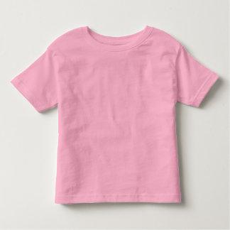 T-shirt rose simple du Jersey d'amende d'enfant en