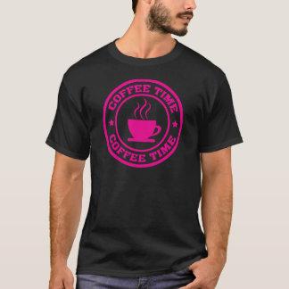 T-shirt Roses indien de cercle de temps du café A251