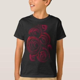 T-shirt Roses rouges dans l'obscurité