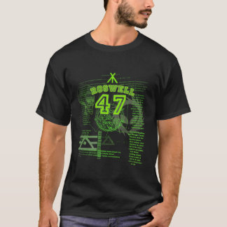 T-shirt Roswell 47