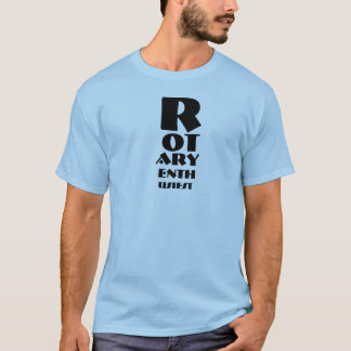 T-shirt rotatoire d'Enthusiest