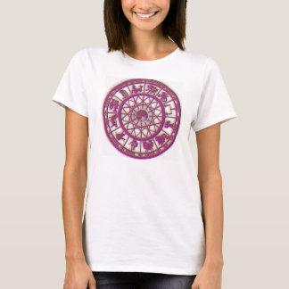 T-shirt Roue de zodiaque