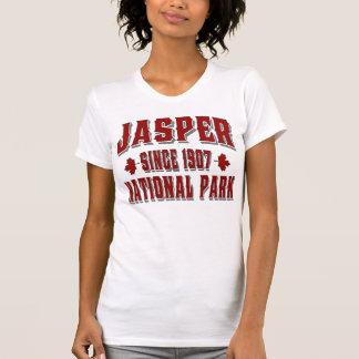 T-shirt Rouge 2 du Canada de style ancien de jaspe