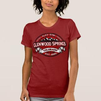 T-shirt Rouge de chemise de logo de Glenwood