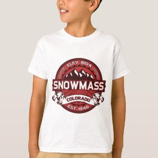 T-shirt Rouge de Snowmass