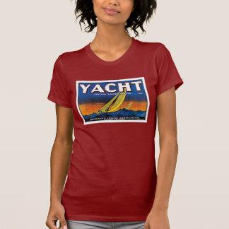 T-shirt Rouge des citrons W de yacht