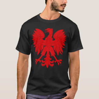 T-shirt Rouge Eagle polonais
