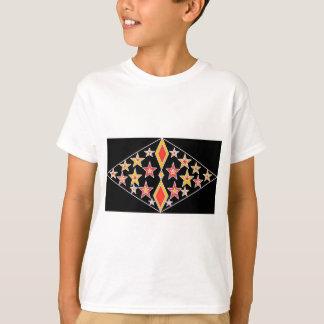 T-shirt rouge et or stars.jpg