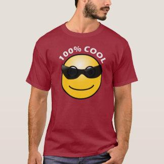 T-shirt rouge foncé frais de 100%