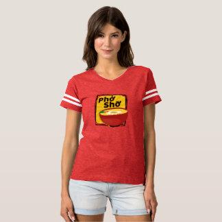 T-shirt rouge moderne de Pho Sho de Ramen pour des