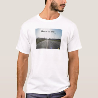 T-shirt Route ensoleillée
