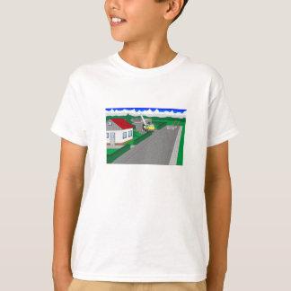 T-shirt Routes et construction