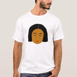 T-shirt Routine quotidienne à extrémité élevé de
