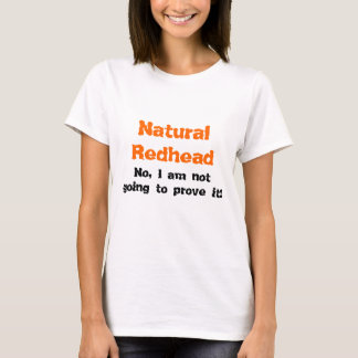 T-shirt Roux naturel