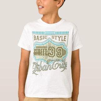 T-shirt Rue de base 39 de style