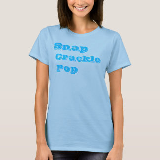 T-shirt Rupture, craquement, bruit
