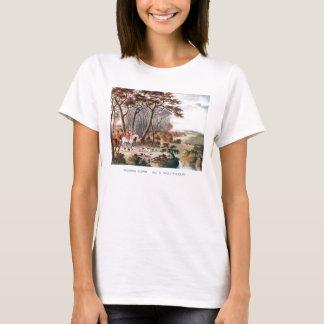 T-shirt Rupture de la chemise de couverture