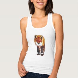 T-shirt rusé, débardeur rusé, habillement de Fox