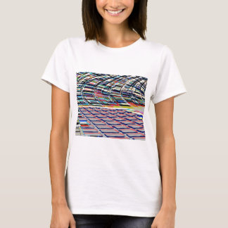 T-shirt Rythme des étapes n de bleu de Havenly de miracle