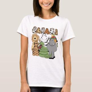 T-shirt Safari animal