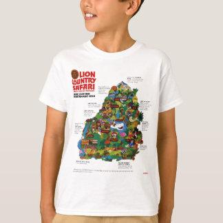 T-shirt Safari de pays de lion (Loxahatchee, Floride)