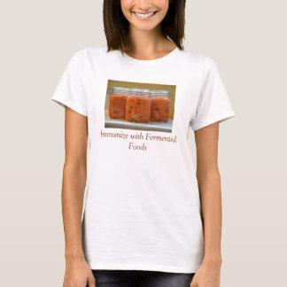 T-shirt sain de système immunitaire
