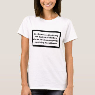 T-shirt Sainement