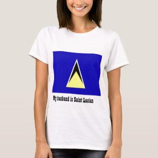 T-shirt Saint Lucia