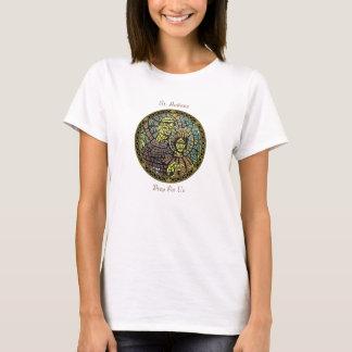 T-shirt Saint patron de la pièce en t d'article des femmes