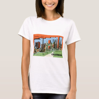 T-shirt Salutations de pueblo, le Colorado !