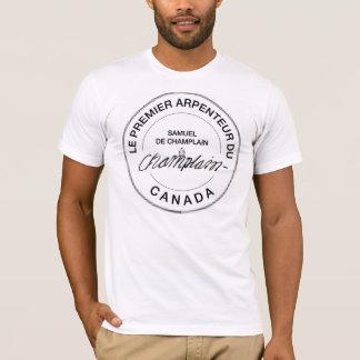 T-shirt Samuel de Champlain Arpenteur du Canada