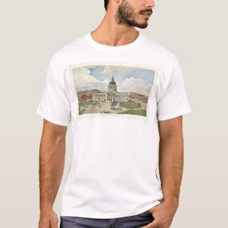 T-shirt San Francisco, CA. Ville hôtel (0286A)
