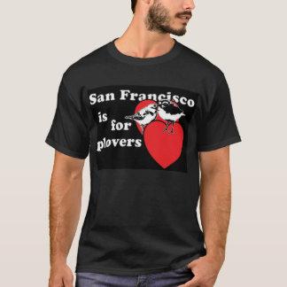 T-shirt San Francisco est pour l'union T de pluviers