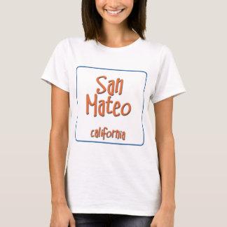T-shirt San Mateo la Californie BlueBox